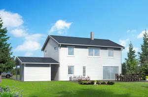 sweeden home design 3d with backyard