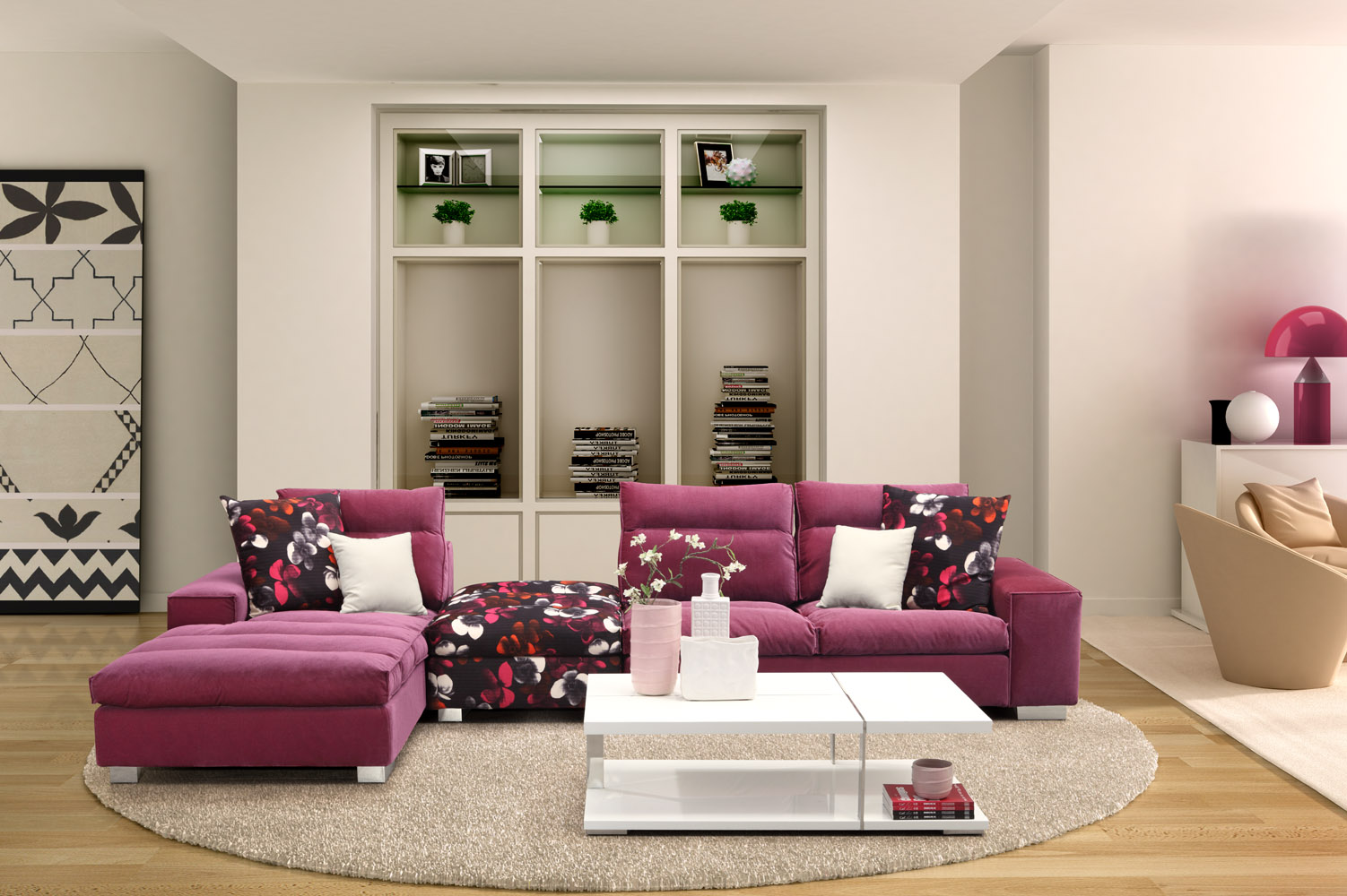 Good 3d Interior Design For Living Room
