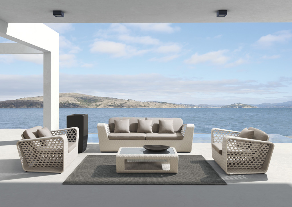 3d interior design for seaside sofa