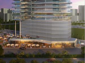 architectural rendering for America designer