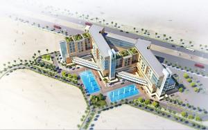 arabic 3d rendering project for British designer