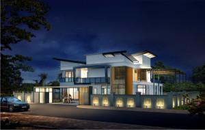 architectural rendering for Malasia designer