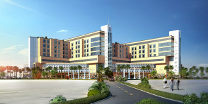 architectural rendering for arabia area