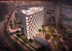 architectural rendering for dubai 3d project