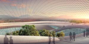 architectural rendering for dubai artist