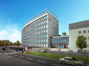 architectural rendering for renovation project in sweeden