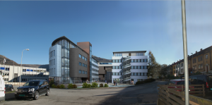 architectural rendering for sweeden designer merge with 3d