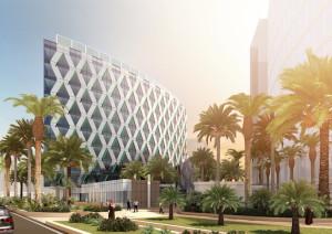 architectural rendering in dubai by British designer