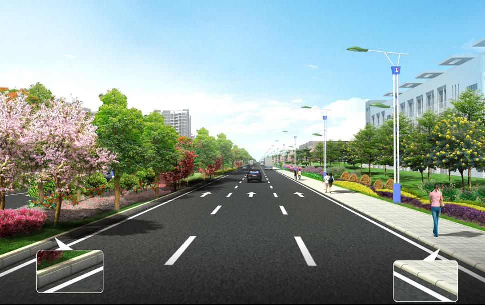 road design in home design 3d