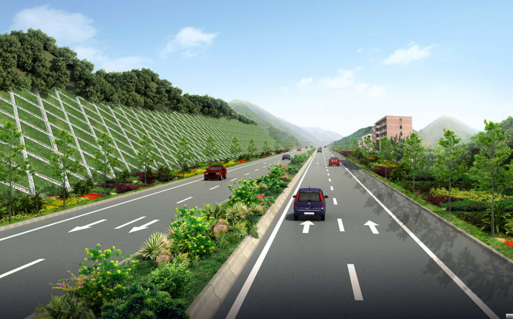 slope protection for road design